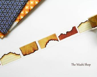 Burnt Edge Paper Washi Tape