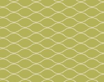 Baby Bedding Crib Bedding - Green Chartreuse Net Print - Baby Blanket, Crib Sheet, Crib Skirt, Changing Pad Cover, Boppy Cover