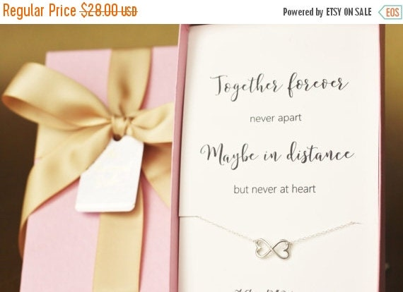 Wedding Gift For Distant Friend : ... distance friendship, friend, birthday linked rings, friend gift, Gift