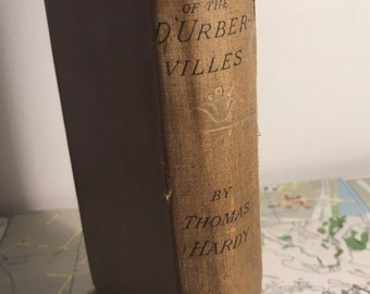 Tess of the D'Urbervilles Thomas Hardy 1892 First Thus Edition