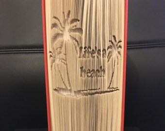 Life's A Beach Completed book fold