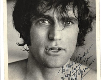 Black & White 8 x 10 hand signed photo-Cliff Gorman, stage and movie actor