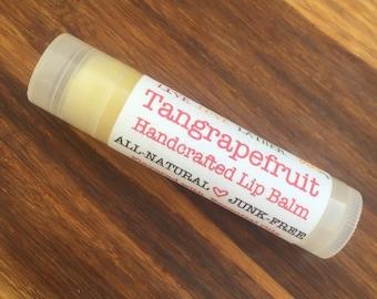 TANGRAPEFRUIT Lip Balm - Jojoba, Almond, Macadamia Blend - Tangerine Grapefruit