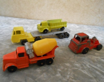 Lot of 4 Metal Toy Vehicles