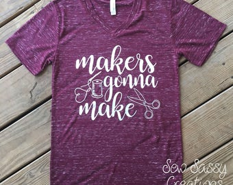 Makers gonna make (sewing)