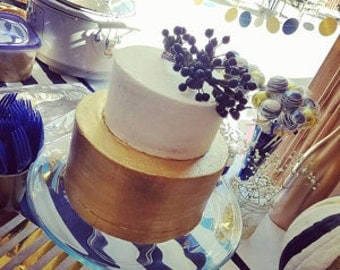 Navy stripe table runner, wedding tables.birthday partys