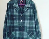 One of a Kind Pendleton Top- 2XL