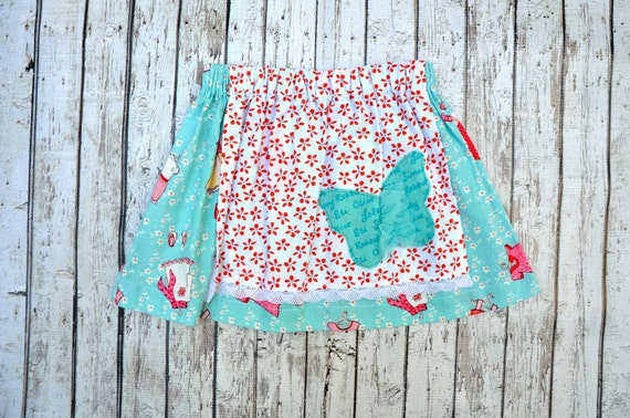 Butterfly Apron Skirt 2/3