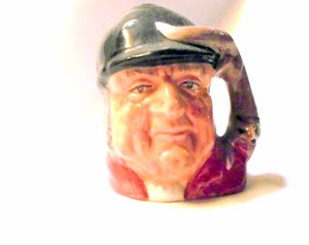 Royal Doulton Gone Away Mini Toby Mug