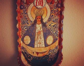 Virgen de Zapopan Holy Water Font
