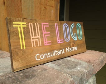 "5-7 DAY TURNAROUND - Customizable Consultant Sign - 6"" and 8"" option available"