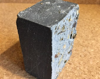 Black Sea Salt Handmade Soap - Activated Charcoal -100% Natural-Cold Processed - Large Bar