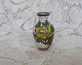 Miniature Cloisonne Vase