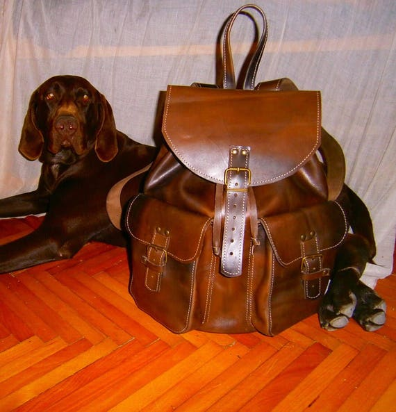 Leather BackPack, School BackPack, Travel BackPack, Handmade BackPack, Overnight BackPack, Travel Bag, School BackPack