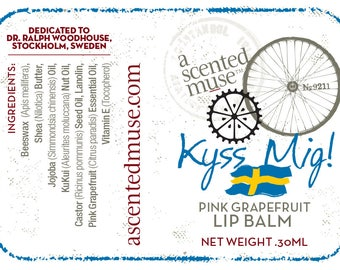 Kyss Mig! Pink Grapefruit Lip Balm .30ml