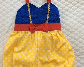 Baby girl princess  romper  12 months