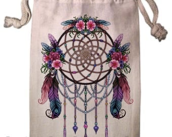 Dreamcatcher Tarot Bag -  Pagan Wiccan  - Brigid Ashwood