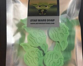 Star Wars Yoda glycerin Soap