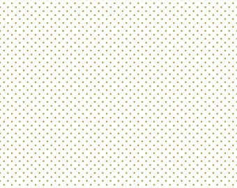 Sparkle Cotton Dots SC660 Gold Dots
