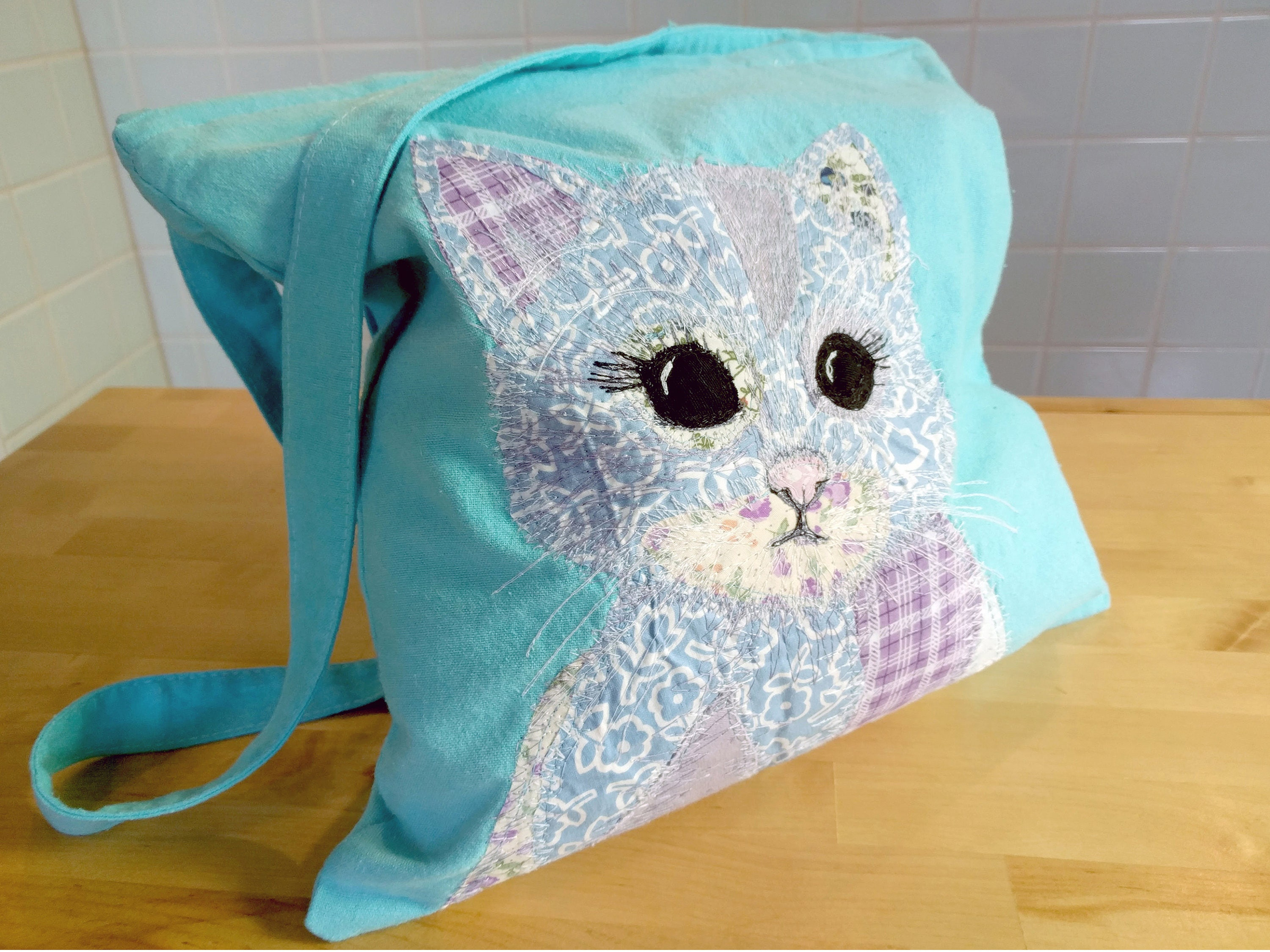 Cat Bag Kitten Tote Shoulder Birthday Gift