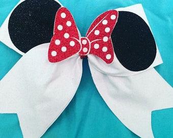 Minnie cheer bow