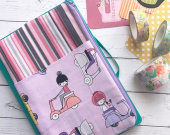 Planner Zipped Pouch - Notebook Zipped Pouch