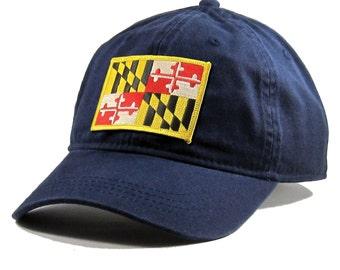 Homeland Tees Maryland Flag Hat