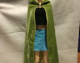 Green Velvet cloak