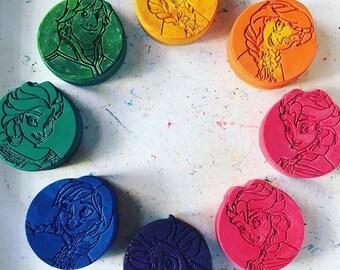Princess crayons party favor packs bulk pack 10 crayons