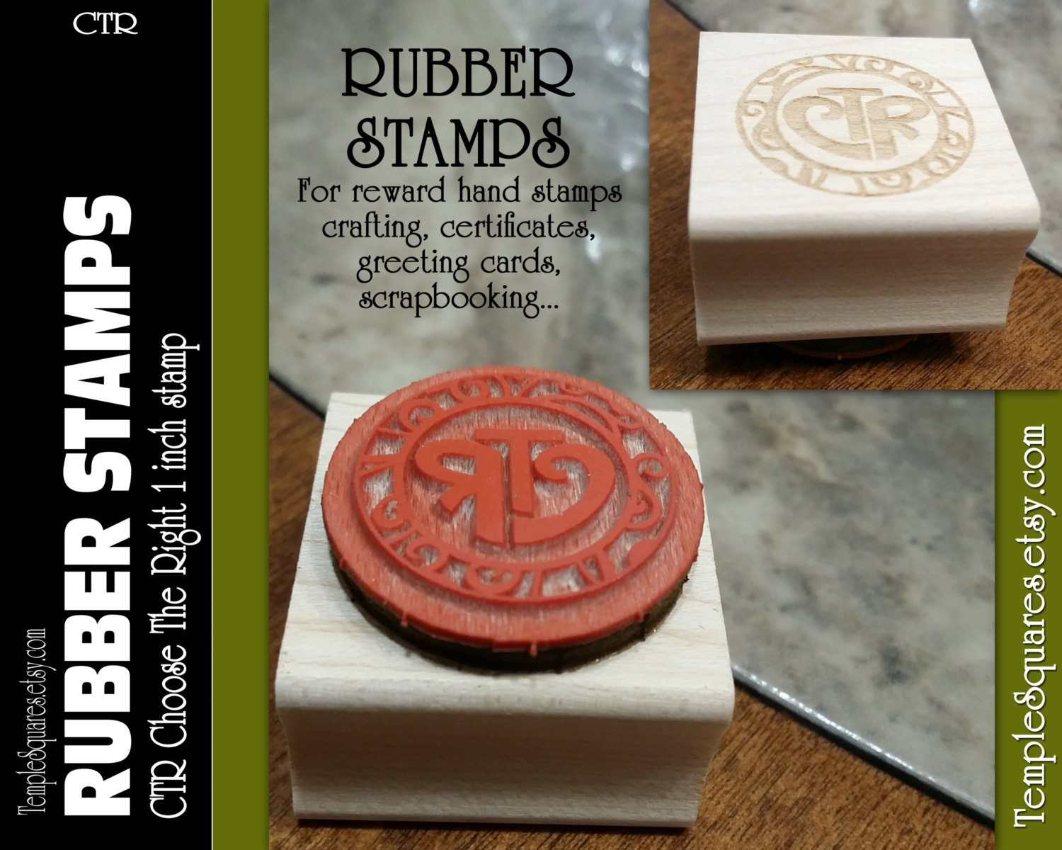 Rubber stamps for crafting -  12 95