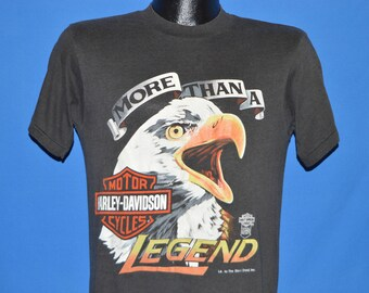80s Harley Davidson More Than A Legend t-shirt Medium