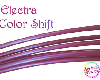 """ON SALE! 3/4"""" Electra Color Shift Polypro Hula Hoop Button collapse"""