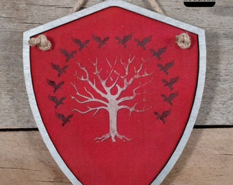 Game of Thrones Shield House Blackwood