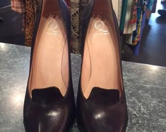Alexander McQueen Black Heels