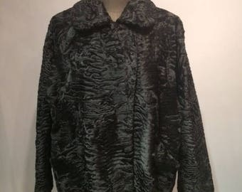 Persian Lamb Black Jacket