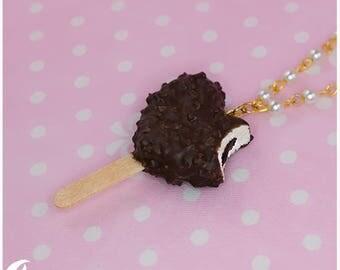 Ice cream heart Necklace