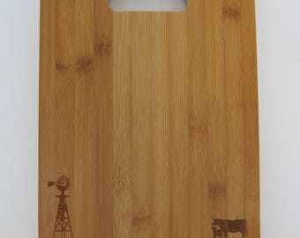 Wood cutting board for Mom Mothers Day
