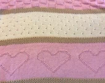 Baby Heart Blanket