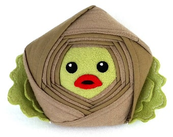 Creature from the Black Lagoon Star Plush – Reclaimed Fabric Limited Edition Star Pillow