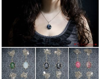 Handpainted Cameo - pick your color