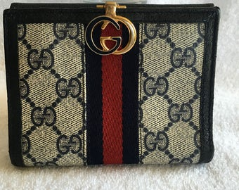 Vintage Gucci GG wallet- 6/1 hold for Constance
