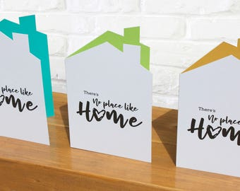 New home card | Housewarming card  |  congratulations new residence  | New house congratulations card  | first home card | leaving home card