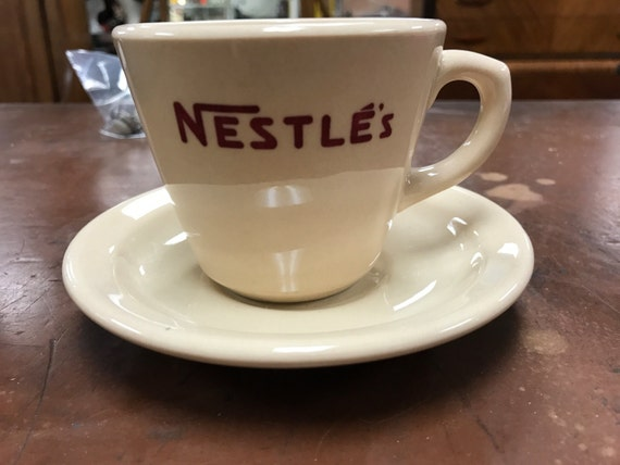Nestle cup and saucer Incaware