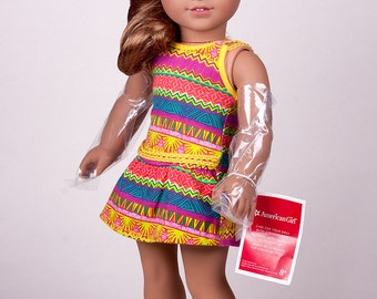 Buy it now OOAK Gorgeous American Girl Doll Lea Custom with blue eyes, outfit, box.