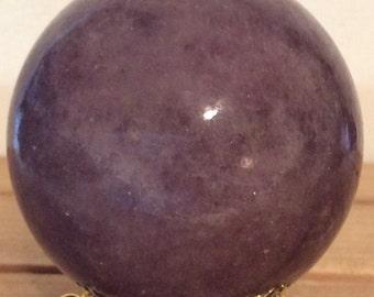Lepidolite Sphere, Sphere 50mm ,Healing Stone, Healing Crystal, Chakra Stone, Spiritual Stone