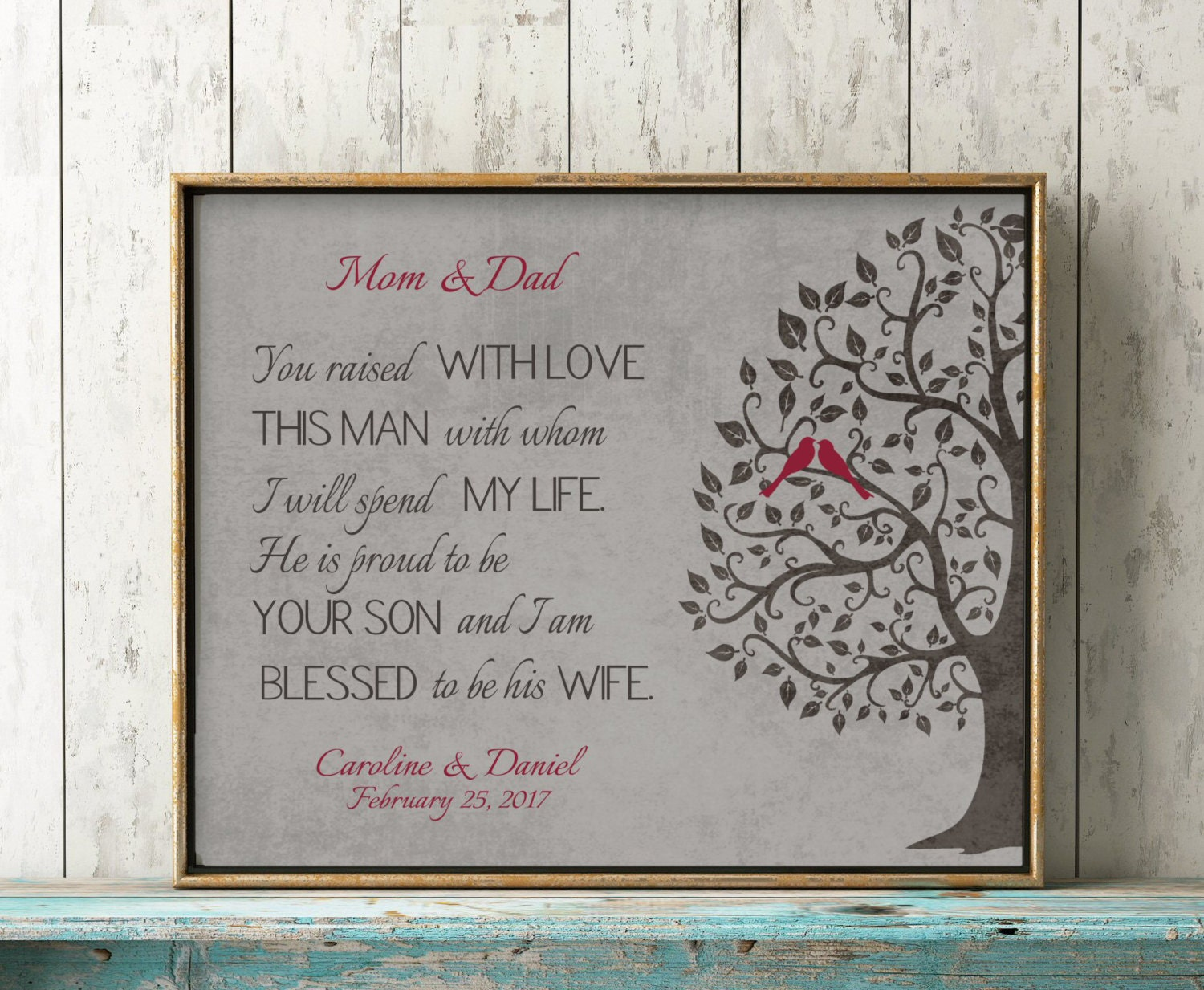 Grooms Gift To Mom: Mother Of Groom Gift From Bride Personalized Gift For Mother