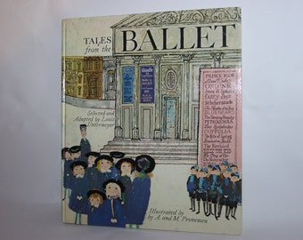 Tales from the ballet by Alice and Martin Provensen, Hamlyn, 1969 1st edition HB