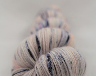 Hand-dyed yarn - superwash merino - lace - dyed-to-order - AMELIE