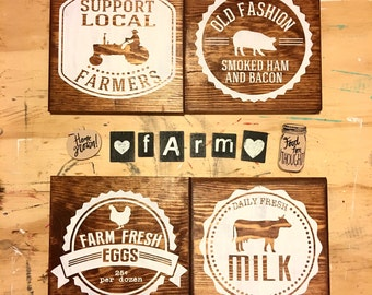 Farmhouse style - Sign Bundle