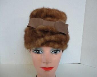 Mink Hat by Lora